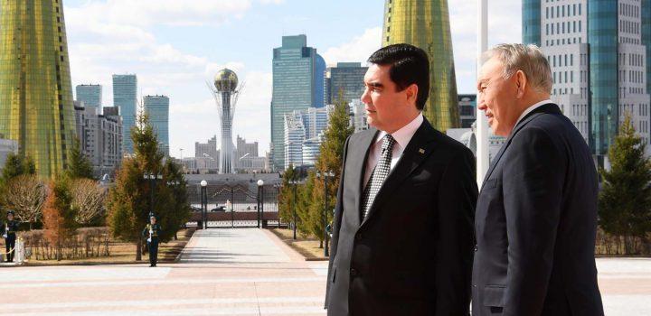 Каспийское измерение казахстанско-туркменских переговоров в Астане