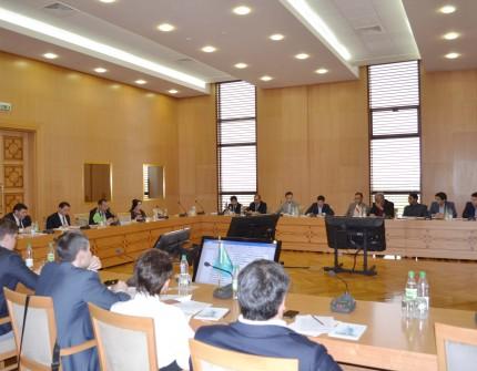 Обсуждается Соглашение о сотрудничестве в области транспорта на Каспийском море