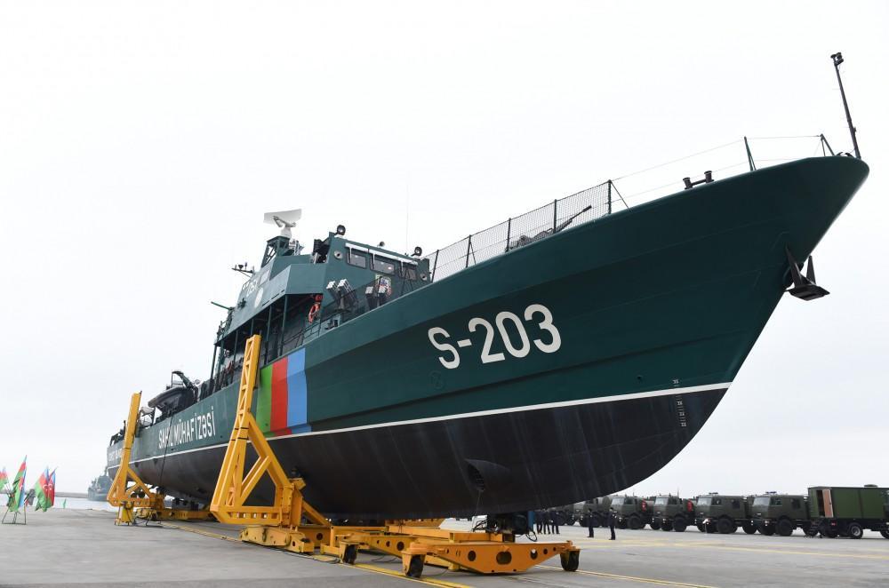 К спуску на воду готовится новый пограничный корабль Азербайджана