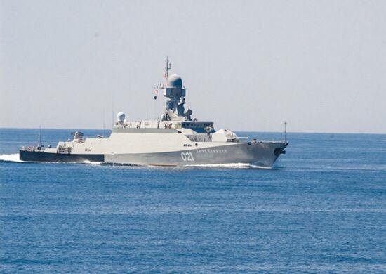 Флоты прикаспийских стран продолжают развивать сотрудничество