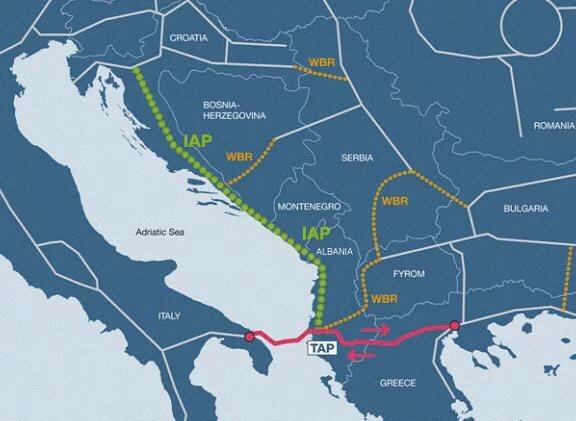 Балканские страны рассчитывают получить каспийский газ