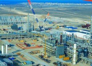 На прикаспийской территории Туркменистана завершается очередной этап создания крупного промышленного кластера