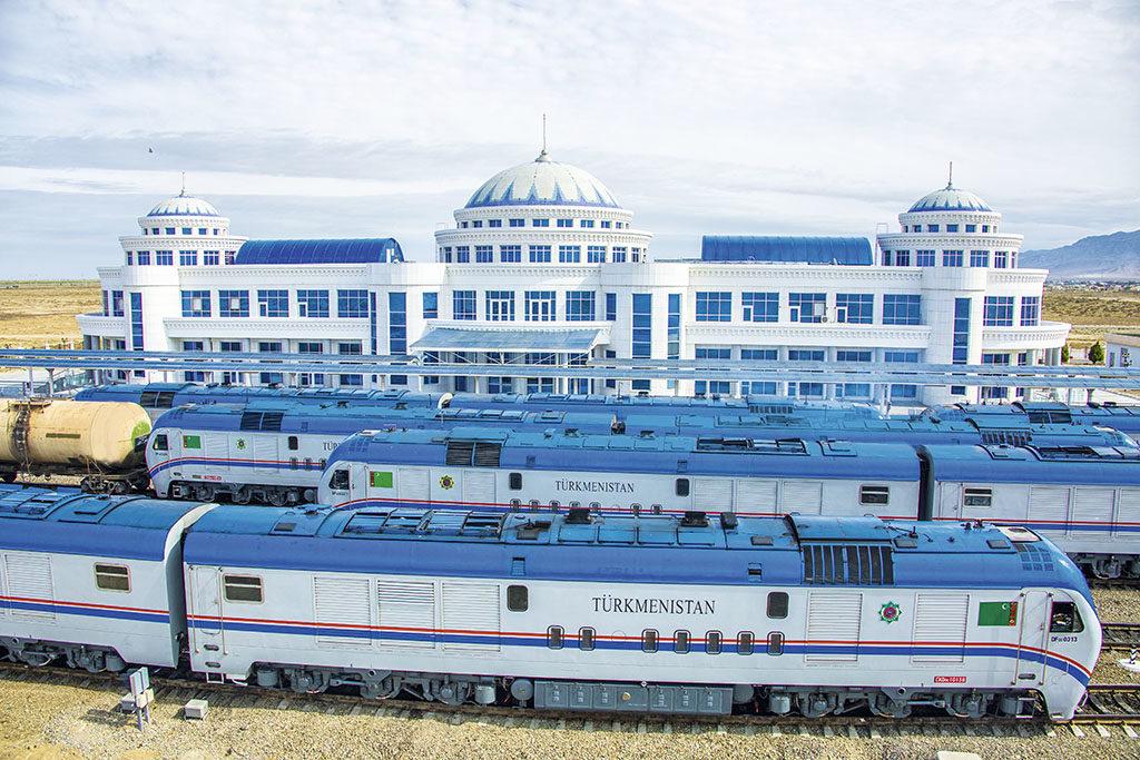 Ашхабад укрепляет транспортно-логистический комплекс страны на Каспии