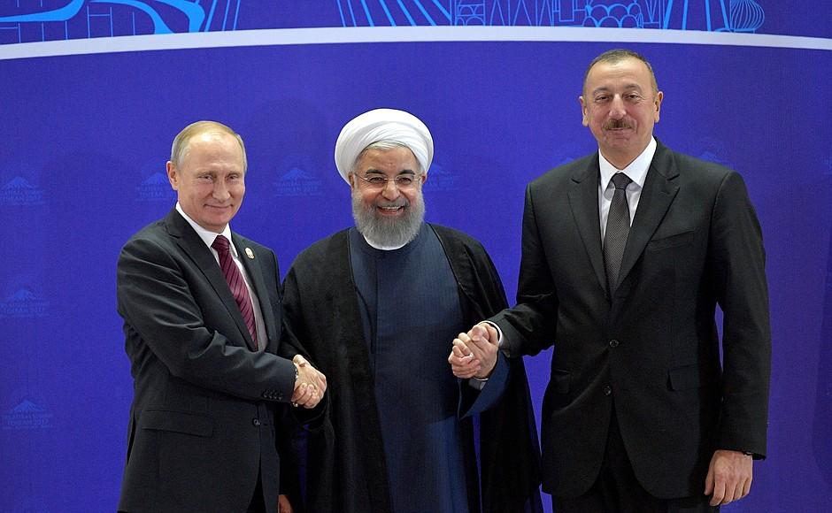 Эксперт: Геополитическая ось Россия-Азербайджан-Иран изолирует Каспийский бассейн от проникновения «некаспийских» держав