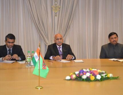 Индия и Туркменистан обсудили перспективы развития сотрудничества