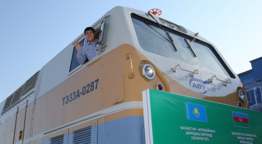 Каспийское море станет железнодорожным коридором