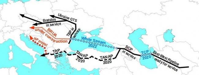 Грузия продвигает туркменский газ в Европу