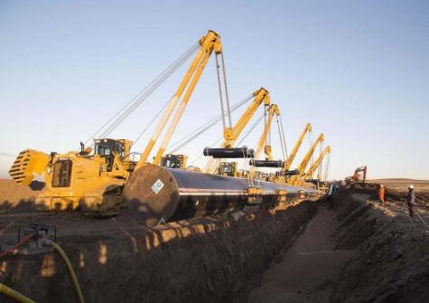 Заканчиваются работы по строительству первой фазы Трансанатолийского газопровода