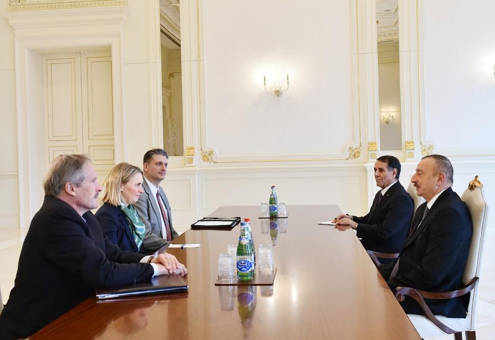 Президент Азербайджана принял заместителя помощника госсекретаря США