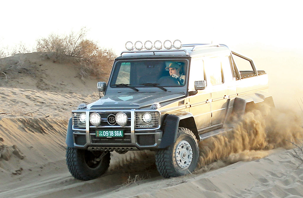 Вооруженные силы нейтрального Туркменистана