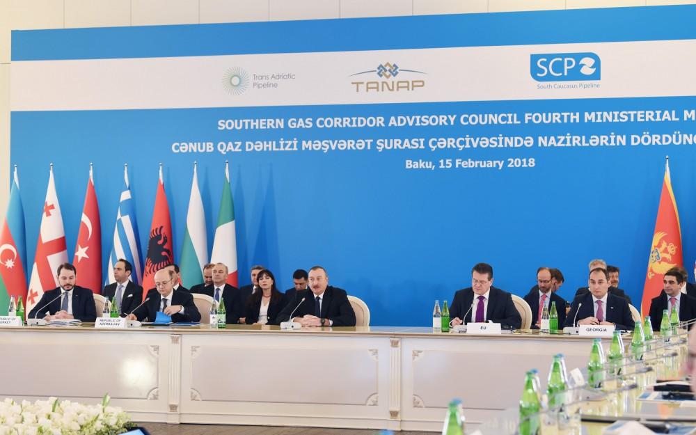 Реализация Южного газового коридора входит в завершающую стадию