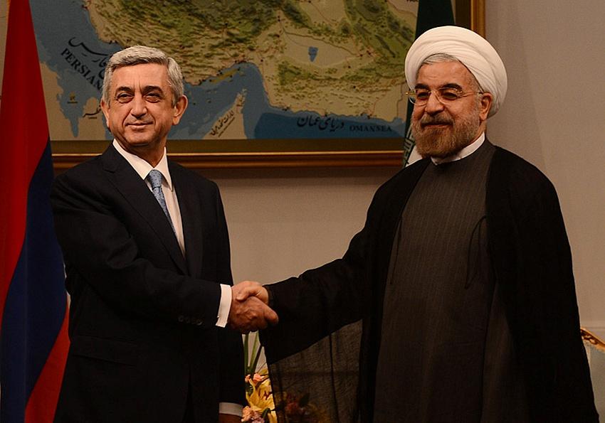 Армения распахивает ворота для Ирана в Евразийский союз