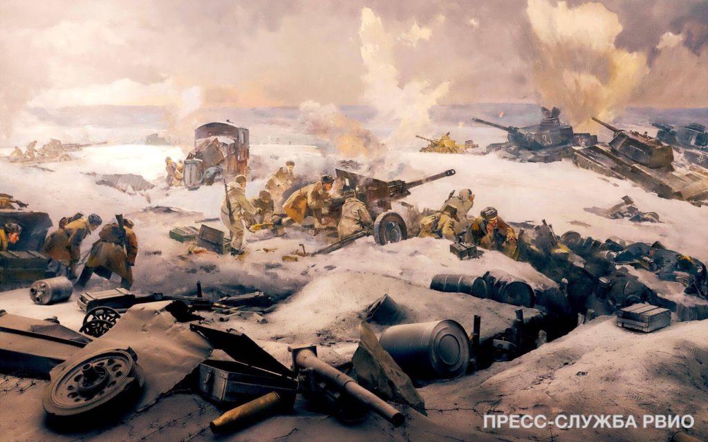 В России отмечается юбилей Победы в Сталинградской битве