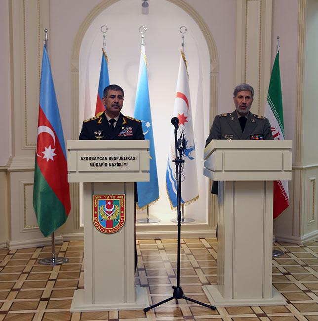 Баку и Тегеран развивают взаимодействие в военной сфере