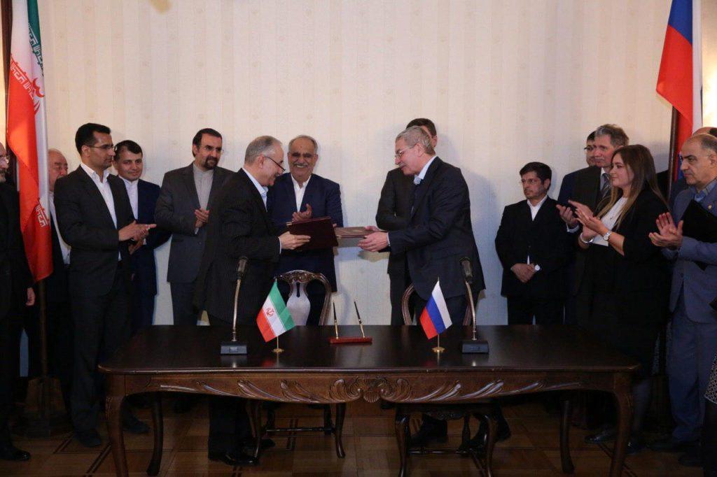 Иран и Россия подписали итоговый документ 14-го заседания Совместной экономической комиссии