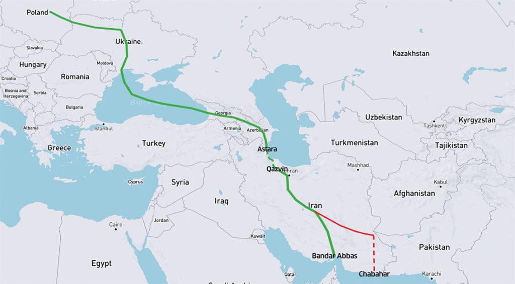 Министры иностранных дел Азербайджана, Грузии, Ирана и Турции выразили поддержку коридору «Юг-Запад»