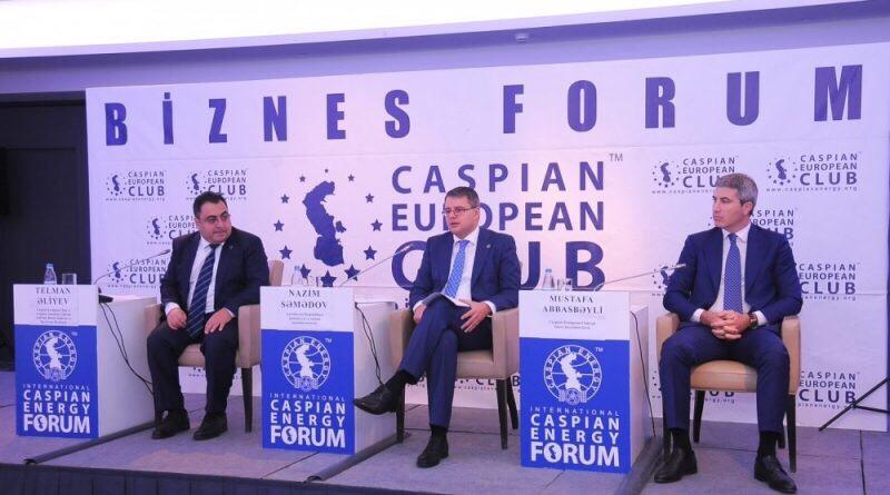 Состоялось третье заседание членов правления Caspian European Club