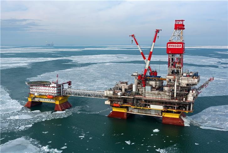 Российский «Лукойл» нарастит объемы нефтедобычи на Каспии