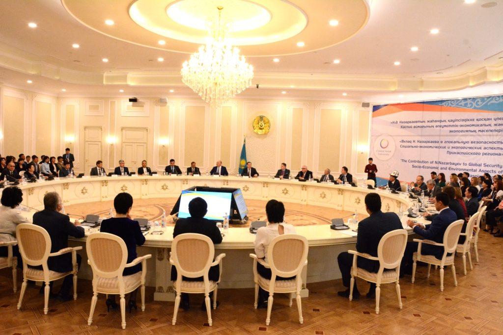 В Казахстане прошла международная конференция, посвященнаяпроблемам Каспия
