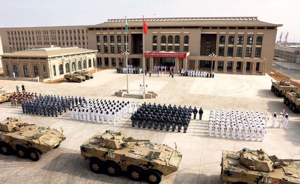 Китайская база в Центральной Азии