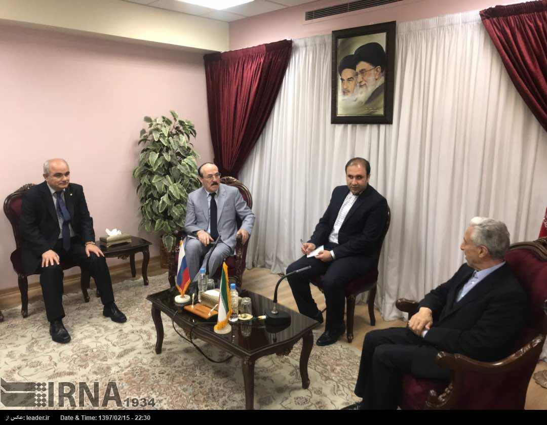 Спецпредставитель президента РФ по Каспию посетил Иран