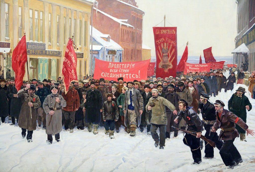 Столетие большевистской революции и распад советского пространства