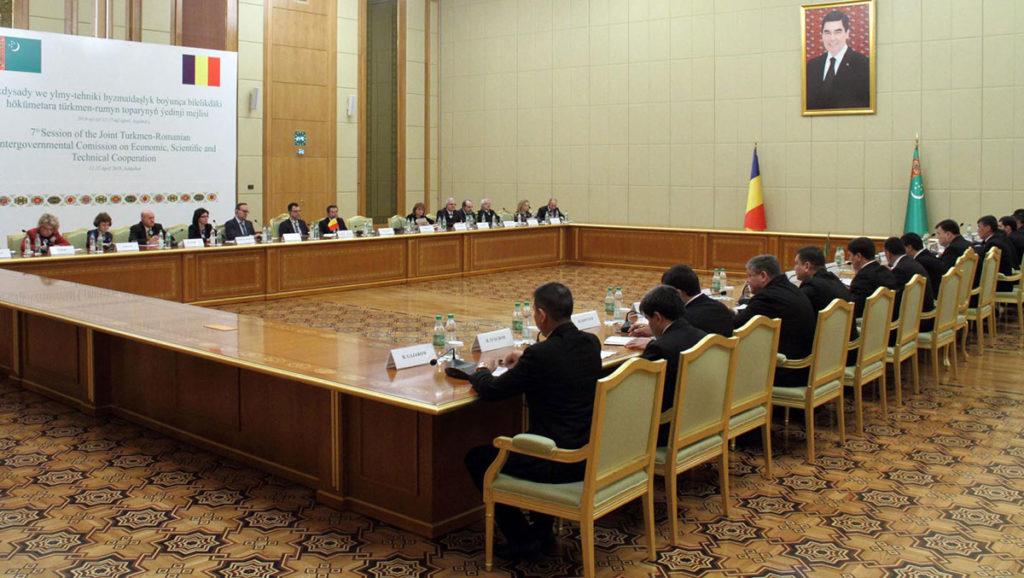Туркменистан и Румыния провели очередной раунд переговоров в Ашхабаде