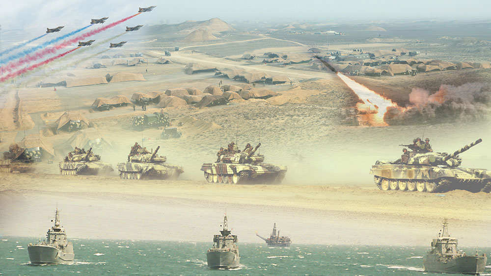 Обзор военных новостей Каспийского региона за первую половину июля