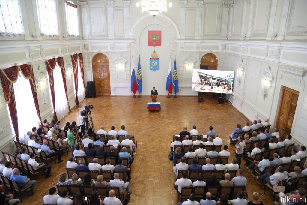 Губернатор Астраханской области рассказал об инвестиционном климате в регионе