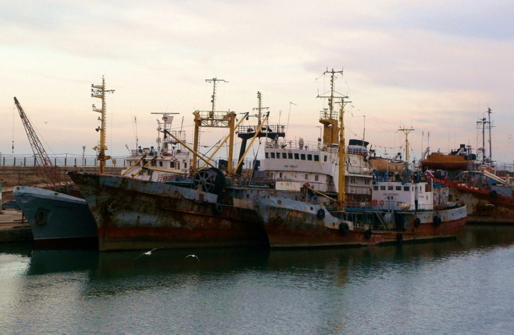 Рыбопромысловый флот России на Каспийском море ожидает обновления