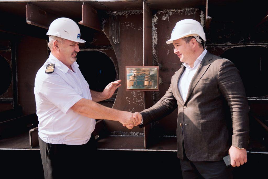 Астраханское судостроительное предприятие получило новый заказ