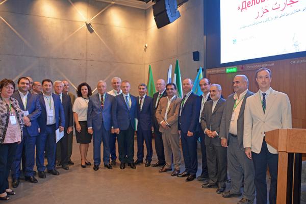 Заседание Международного Совета «Деловой Каспий» в Волгограде