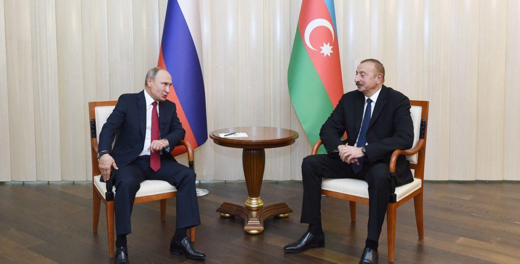 Лидеры России и Азербайджана о каспийской повестке двусторонних отношений