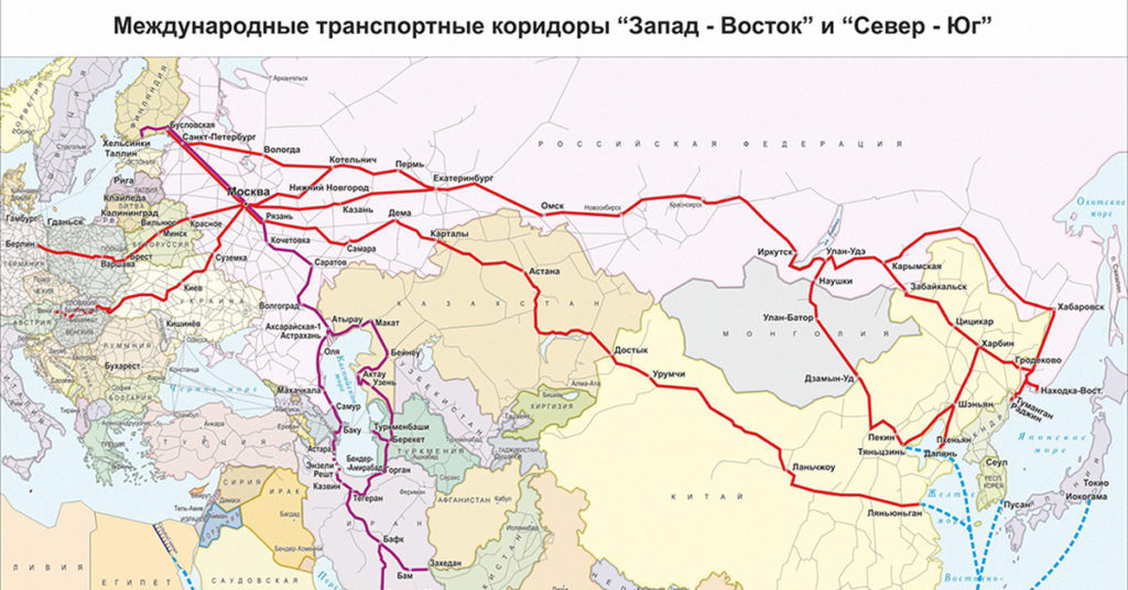 Россия призывает Азербайджан и Иран ускорить реализацию коридора «Север-Юг»