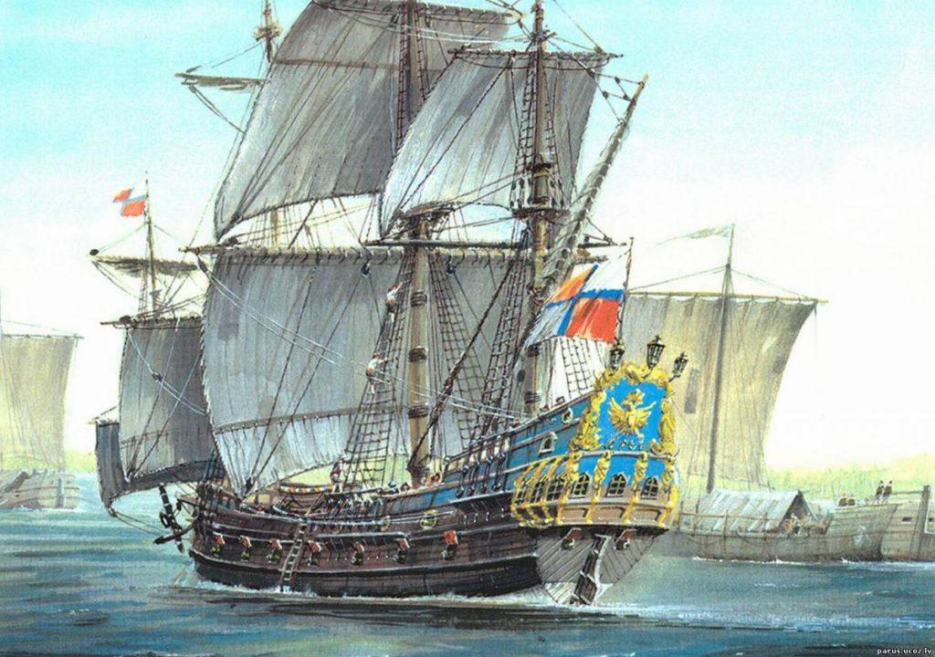 Военно-морские силы на охране Астраханского фронтира