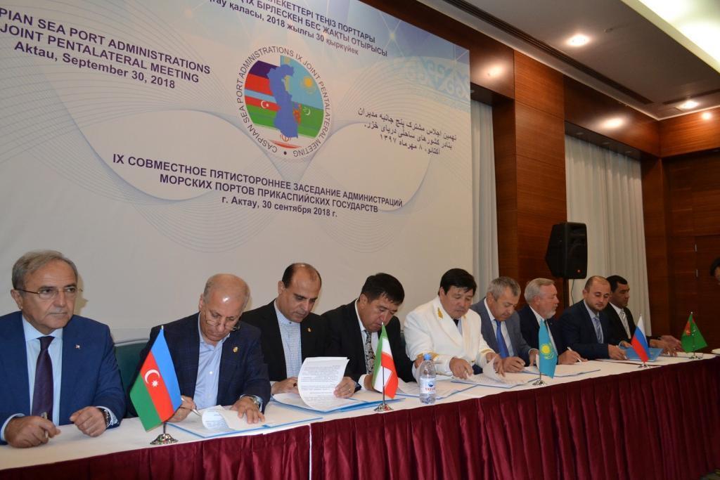 Состоялось заседание администраций морских портов прикаспийских государств