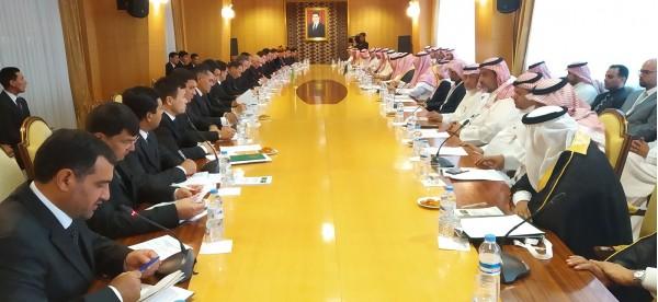Состоялись туркменистано-саудовские переговоры на высшем уровне
