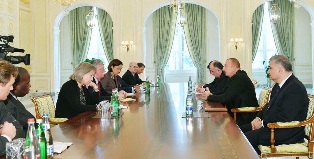 Советник Президента США по вопросам национальной безопасности посетил Баку
