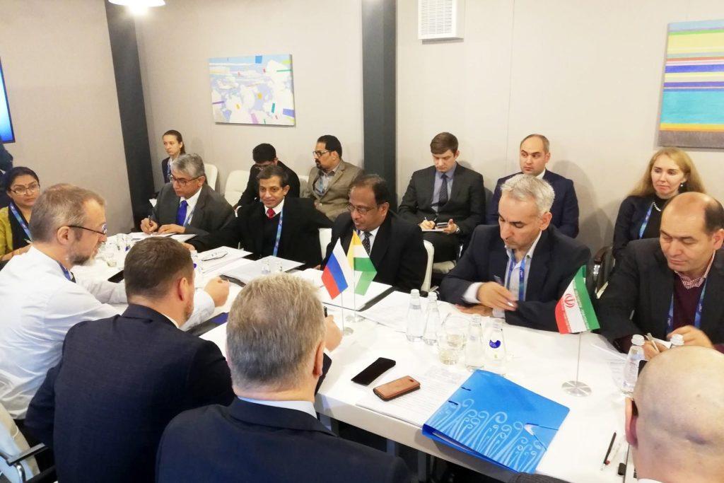 В Москве обсудили развитие коридора «Север-Юг»