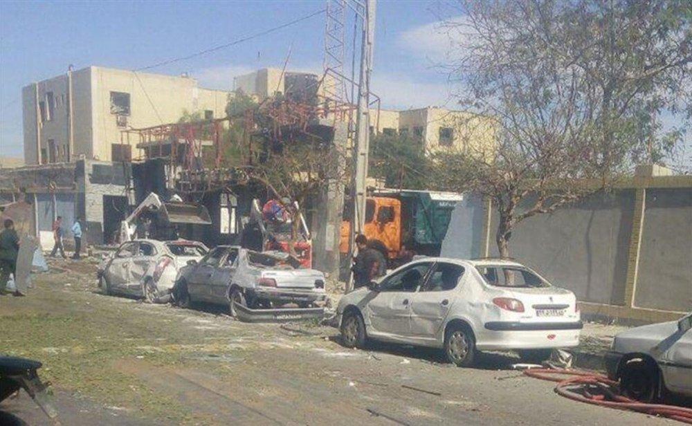 В иранском портовом городе Чабахар произошел взрыв
