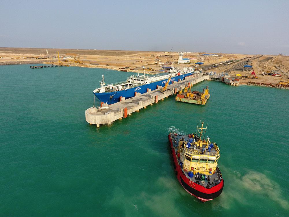 Вектор направления грузов – порт Курык