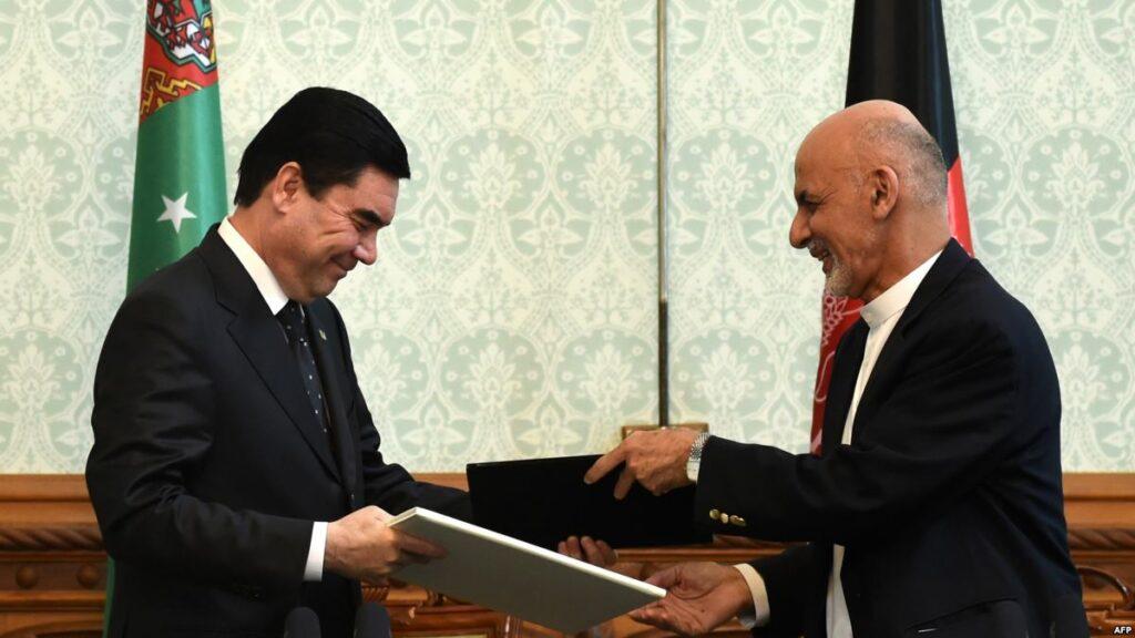 О чём договорились президенты Туркменистана и Афганистана