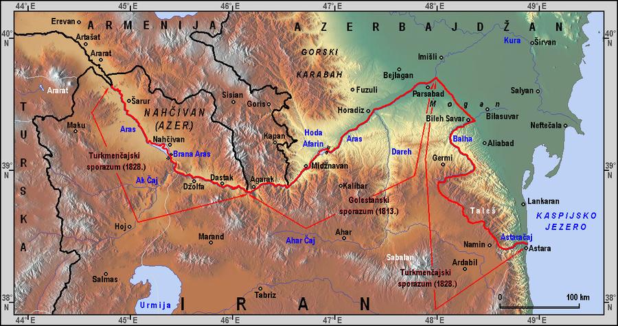 На азербайджано-иранской границе пресечена контрабанда наркотиков