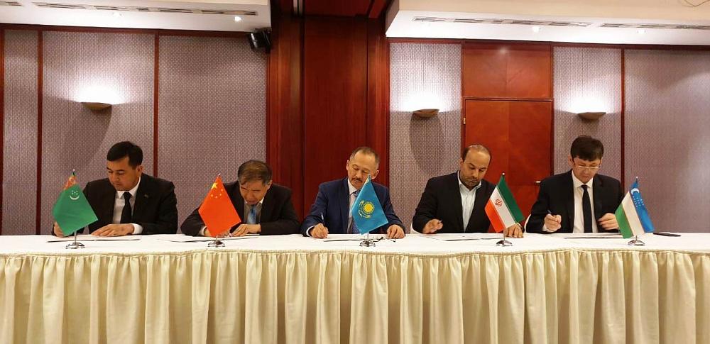 Узбекистан присоединился к коридору Китай-Казахстан-Туркменистан-Иран