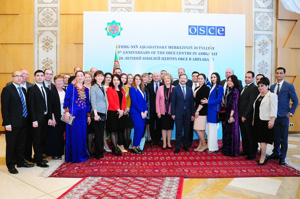 Туркменистан и ОБСЕ отмечают 20-летие сотрудничества