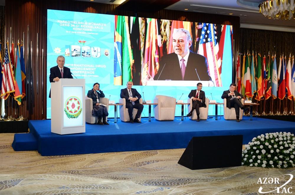 В Баку прошла международная конференция по борьбе с наркотиками