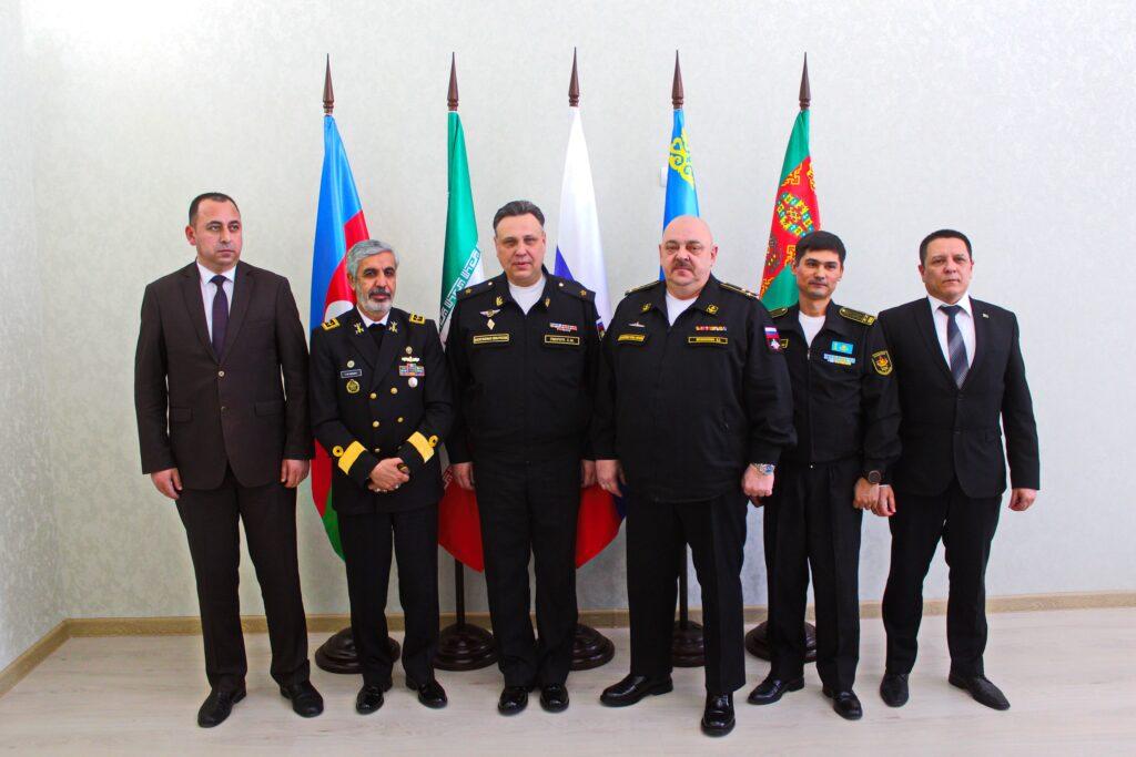 В Астрахани прошла первая встреча представителей оборонных ведомств прикаспийских стран