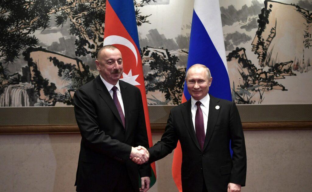 Состоялась встреча Владимира Путина и Ильхама Алиева