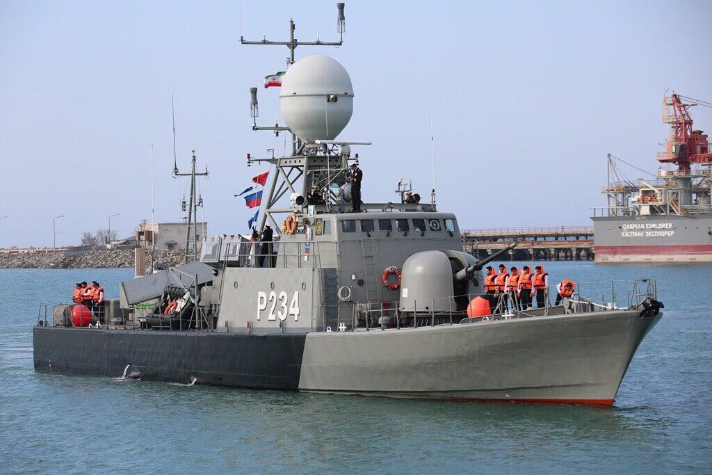 Группа кораблей Военно-морских сил Ирана посетила Казахстан