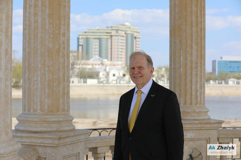 Посол США Уильям Мозер посетил прикаспийский регион Казахстана
